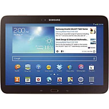 $75 off any Samsung tablet at Staples *In-store Only*