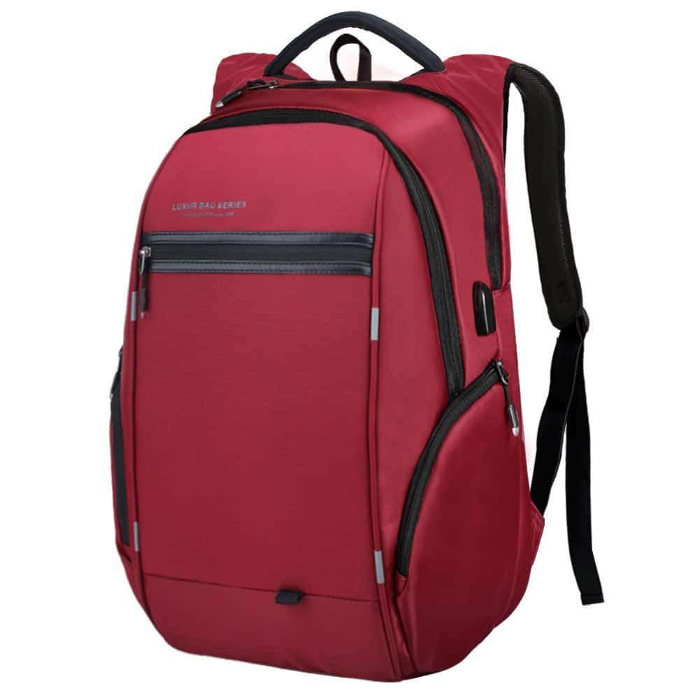 37L Laptop Backpack with USB Charging Port $17.99