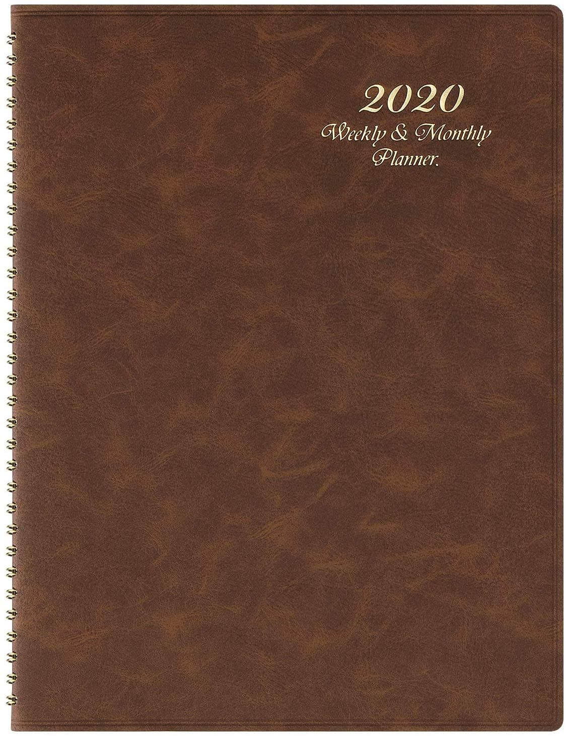 "2020 Planner - 2020 Weekly & Monthly Planner  8.7"" x 11.4"" $6.99"