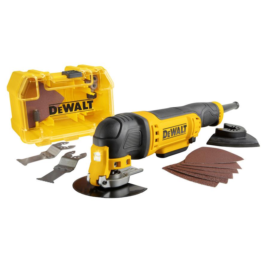 LOWES: DEWALT 29-Piece Corded 3-Amp Oscillating Tool Kit for $79