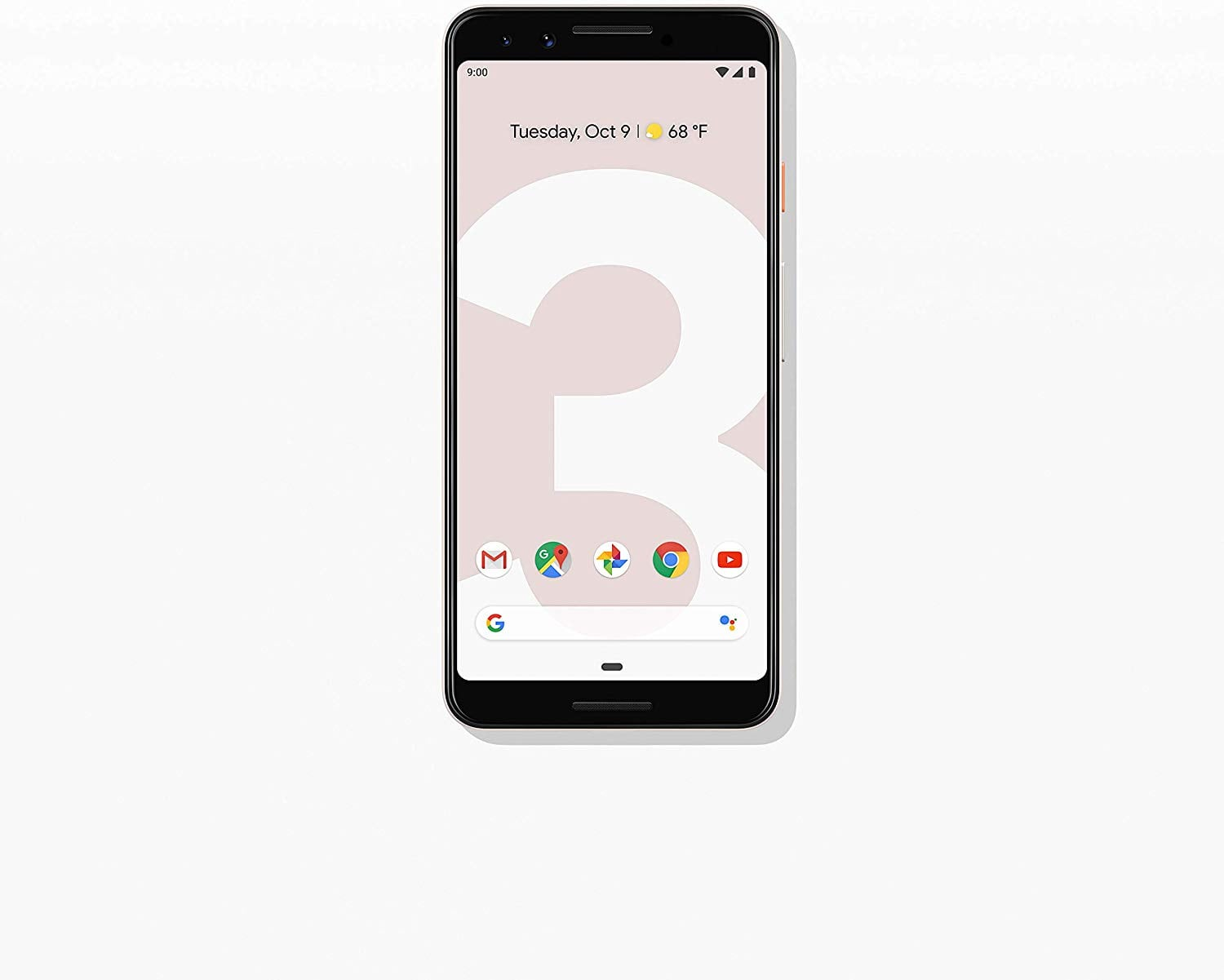 Google - Pixel 3 with 128GB Memory Cell Phone (Unlocked) - Not Pink From Amazon $478.6