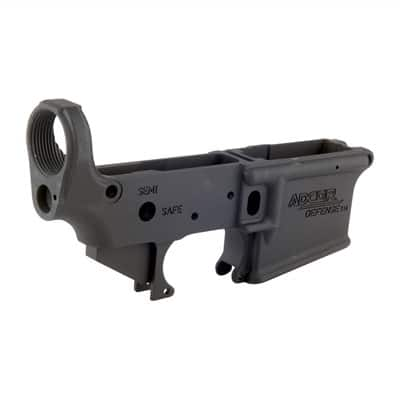ADCOR DEFENSE - AR-15 Stripped Lower Receiver $120 + SH