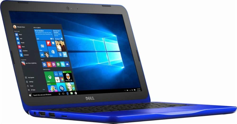 "Dell 11.6"" Inspiron Laptop, Intel Celeron N3060, 4GB Memory, 32GB eMMC Flash Memory for $139.99 at Best Buy"