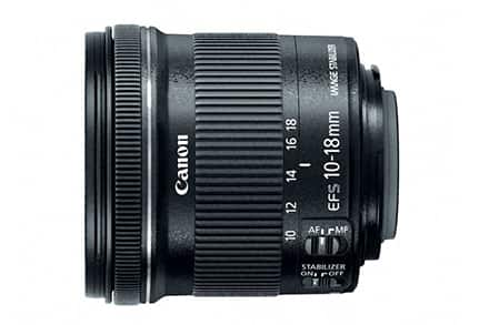 Canon EF-S 10-18mm f/4.5-5.6 IS STM Lens (Refurb) $190