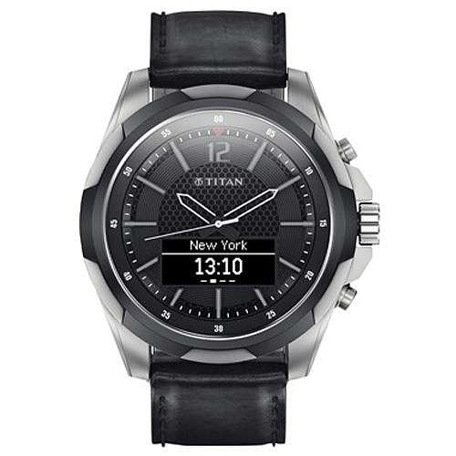 HP Inc. Titan Smartwatch Titanium Black Strap $49.99