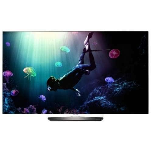 "LG 55"" Smart UHD OLED TV with webOS 3.0 - OLED55B6P $999.99"