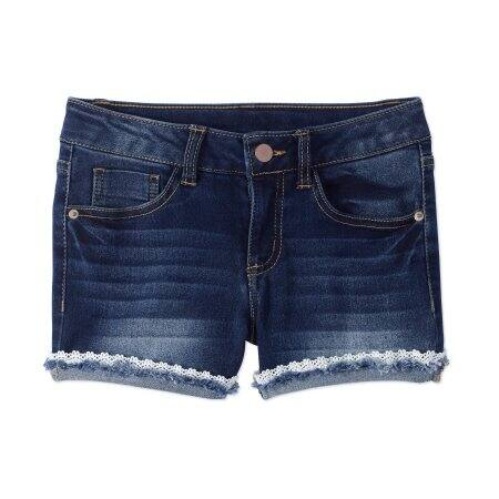 Wonder Nation Girls' Fashion Denim Shorts $8.41