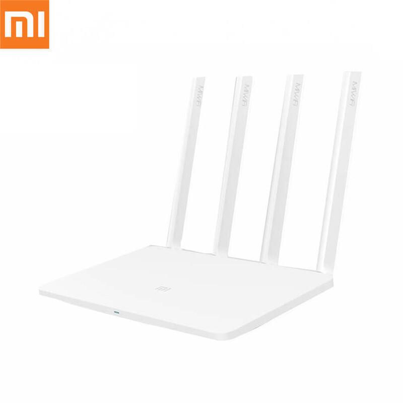 [English Version] Original Xiaomi Mi WiFi 3 Router EU Plug Smart 4 Antennas 1167Mbps Dual Band  Free shipping from China $32.58