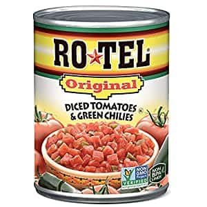 10oz Ro-Tel Diced Tomatoes & Green Chilies: $0.98 or less