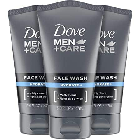 3 count 5oz DOVE MEN + CARE Face Wash Hydrate Plus: $8.65 or lower