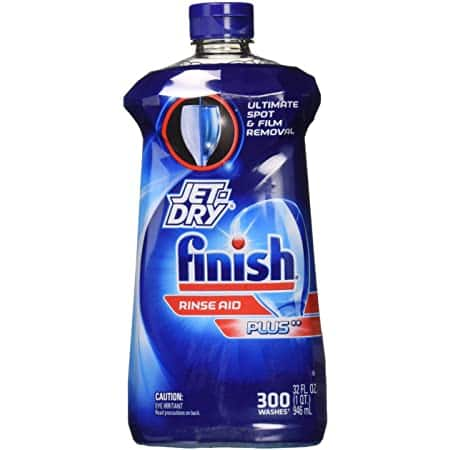 8.45oz Finish Jet-Dry Rinse Aid, Dishwasher Rinse Agent & Drying Agent: $3.69 or lower Amazon S&S