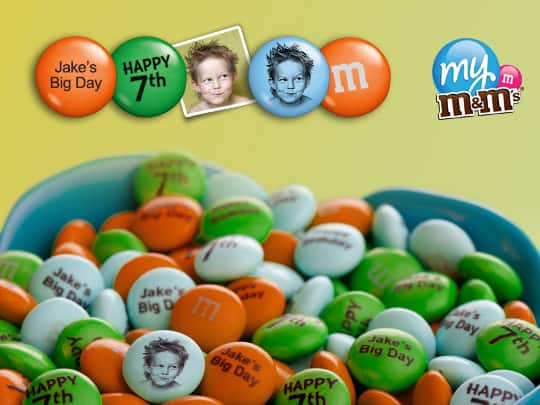 Amazonlocal: $30 to Spend on Personalized M&M'S for $15