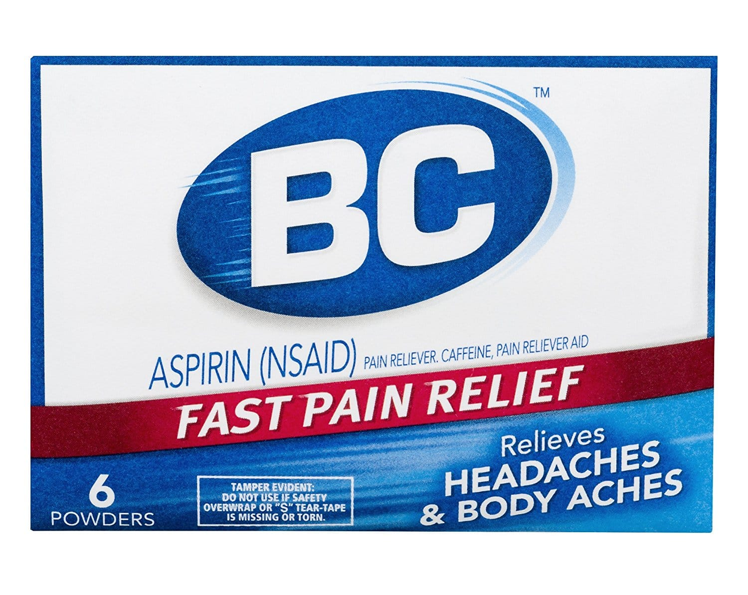 Cheap S&S Item at Amazon:  BC Aspirin Fast Pain Relief Powder  - 6 Powders: As low as $0.56 + FS