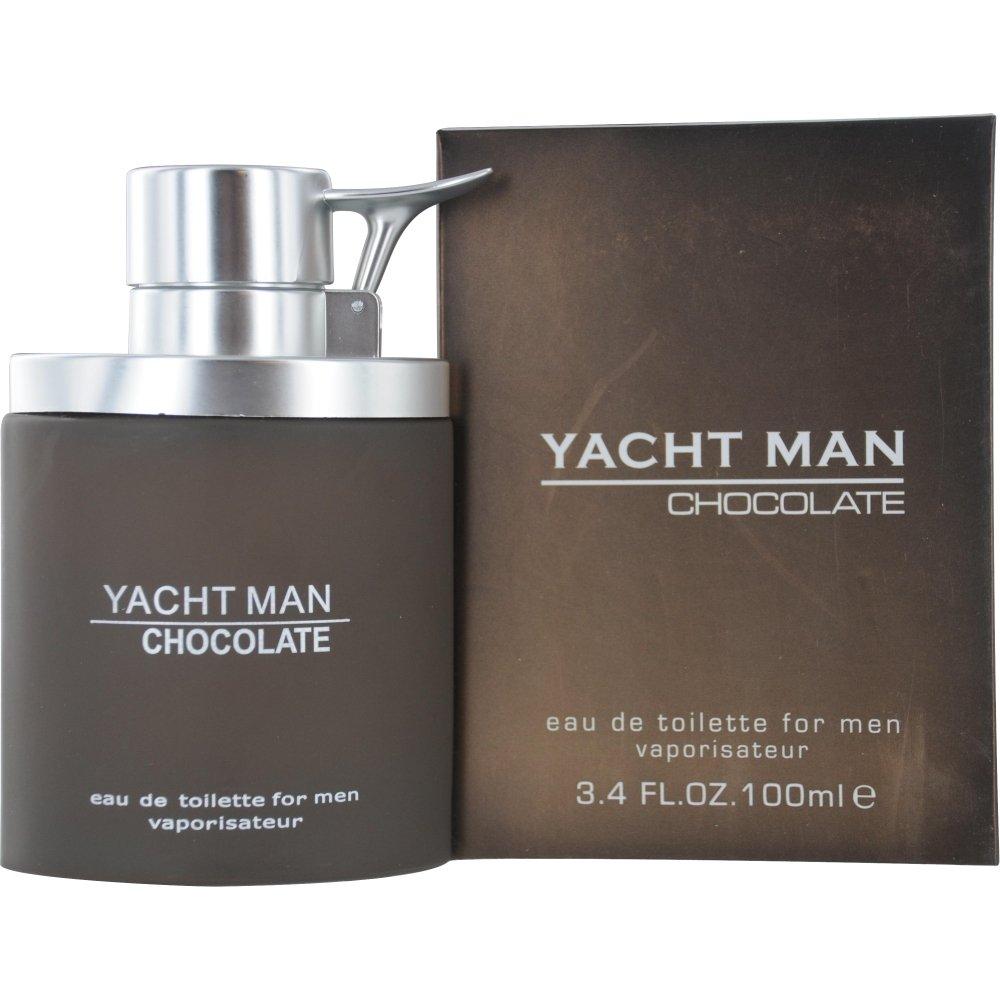 Myrurgia Yacht Man Eau De Toilette Spray for Men, Chocolate, 3.4 Ounce: $3.69 or less w/S&S