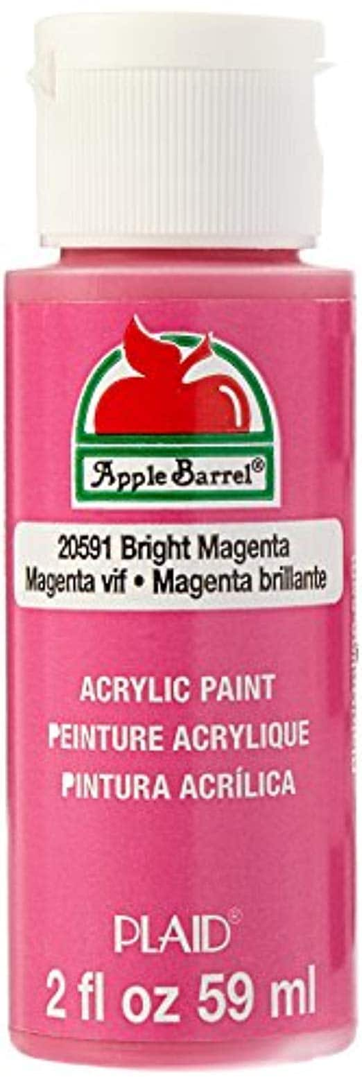 Apple Barrel Acrylic Paint in Assorted Colors (2 oz): $0.50 each (buy 3 for $1.50 and get $1 digital credit for slow ship)