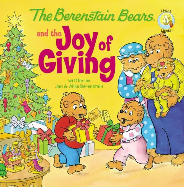 The Berenstain Bears and the Joy of Giving Paperback + 1 digital credit for slow ship: $1.99 & more