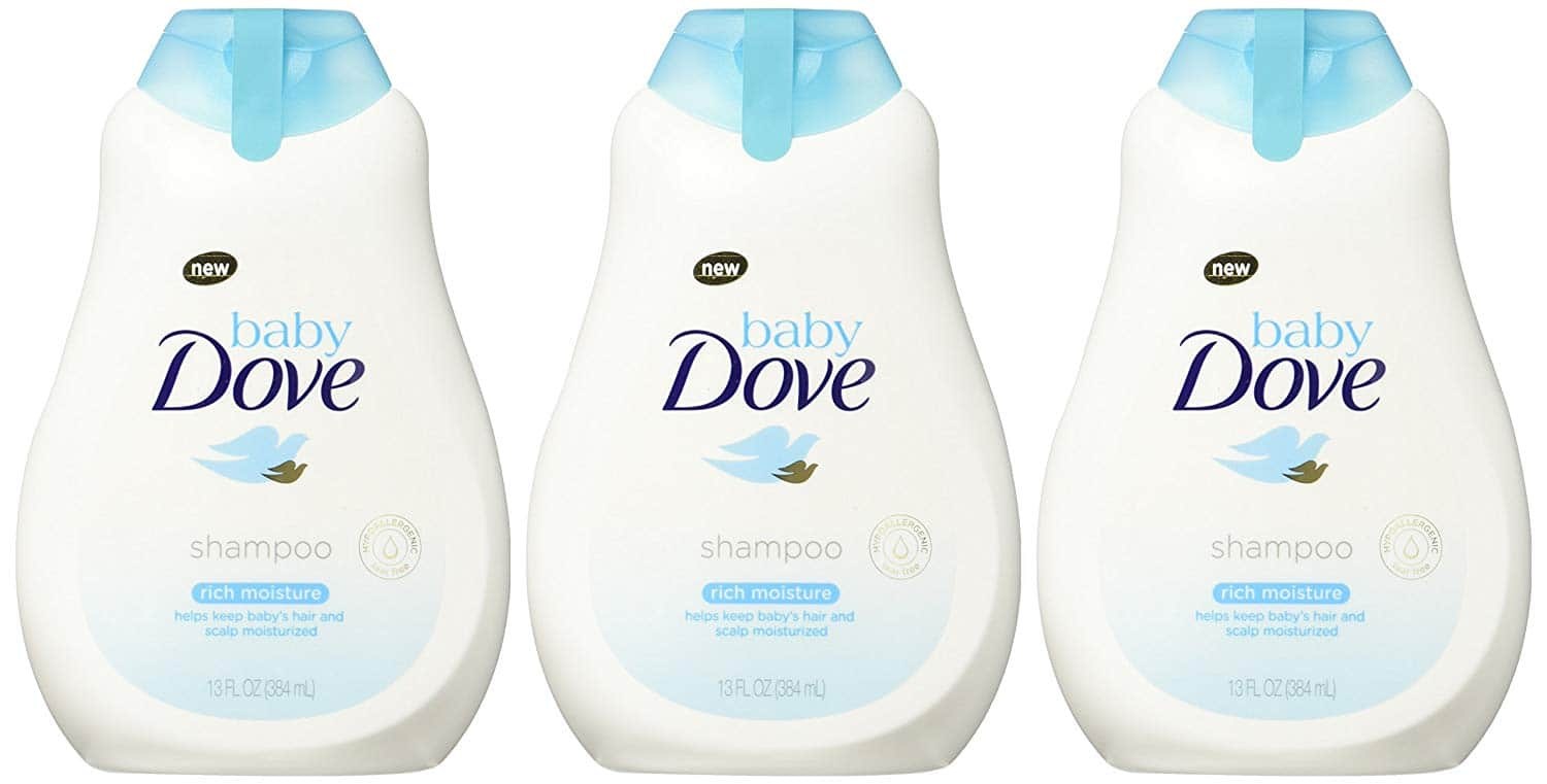 Baby Dove Tear FreeShampoo, Rich Moisture, 13 oz, 3 count As low as $9.03 w/S&S