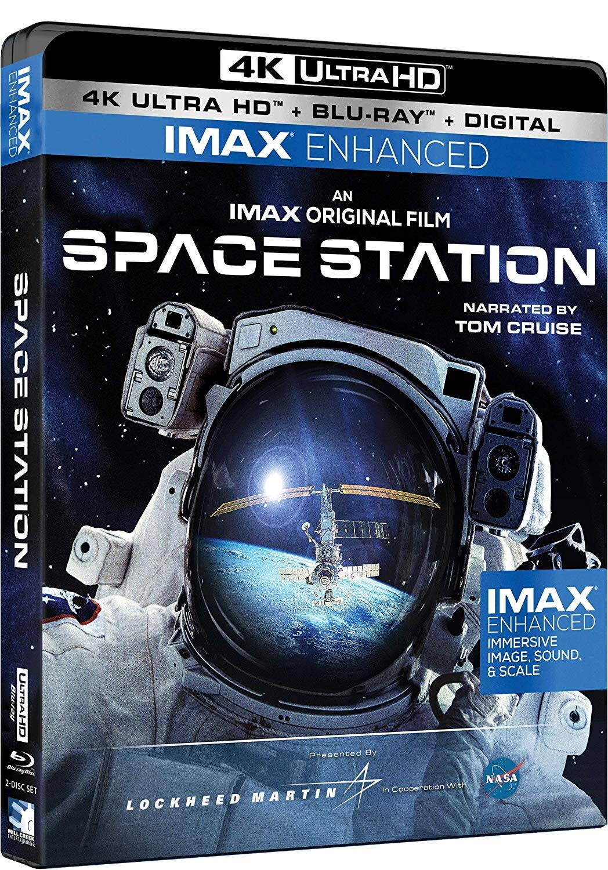 Space Station - 4K UHD - IMAX Enhanced [Blu-ray]: $12.92
