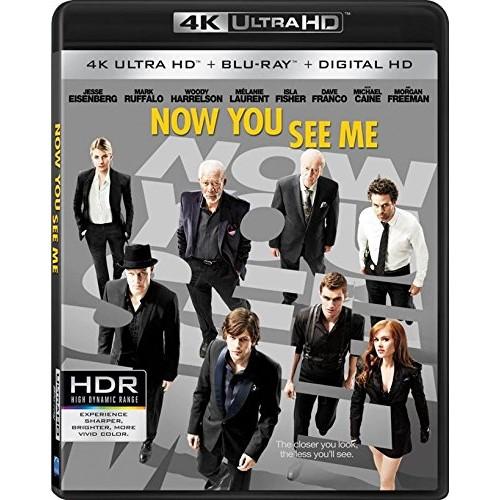 Now You See Me [4K Ultra HD + Blu-Ray + Digital HD]: $9.99