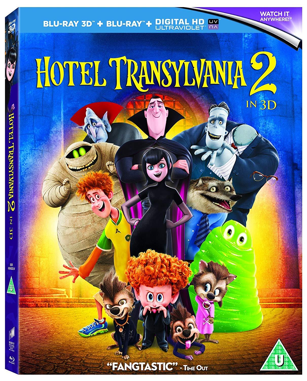 Hotel Transylvania 2 (Blu-ray 3D) [2015] [Region Free]: $10.99