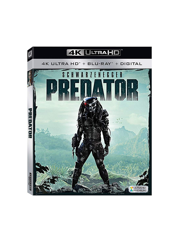 Predator 4K Ultra HD [Blu-ray]: $11.99 A/c + FS w/Prime