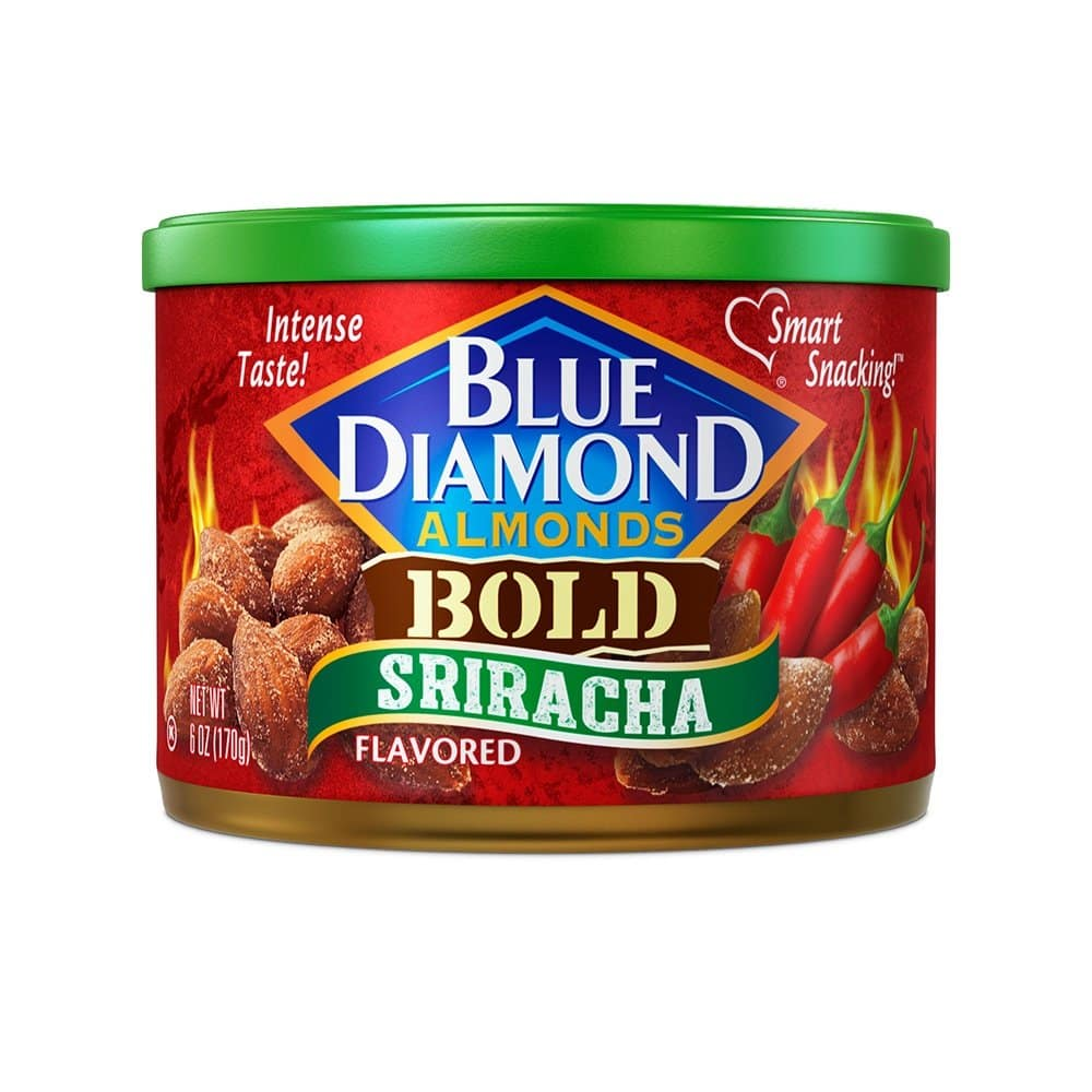 Blue Diamond Gluten Free Almonds, Bold Sriracha, 6 Ounce: As low as $2.15 w/S&S and A/c