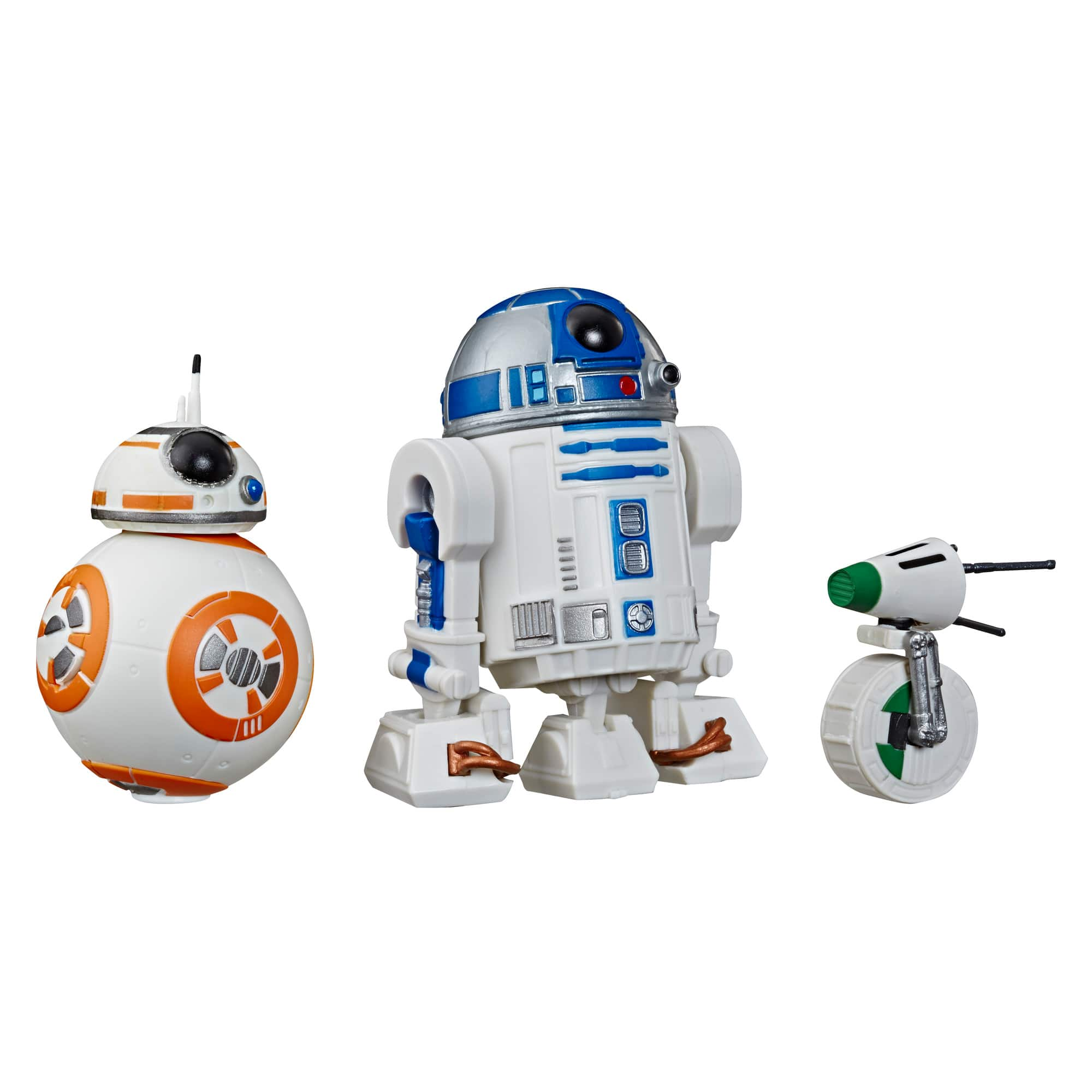 Star Wars Galaxy of Adventures R2-D2, BB-8, D-O 3-pack Toy Droid Figures: $7.50 + Free Store Pickup