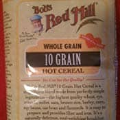 4 pack Bob's Red Mill 10 Grain Hot Cereal, 25-ounce : As low as $8.97 w/S&S and A/c