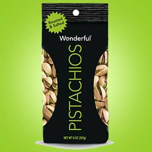 Wonderful Pistachios, Roasted and Salted, 16 Ounce Bag: $3.80 or less w/S&S
