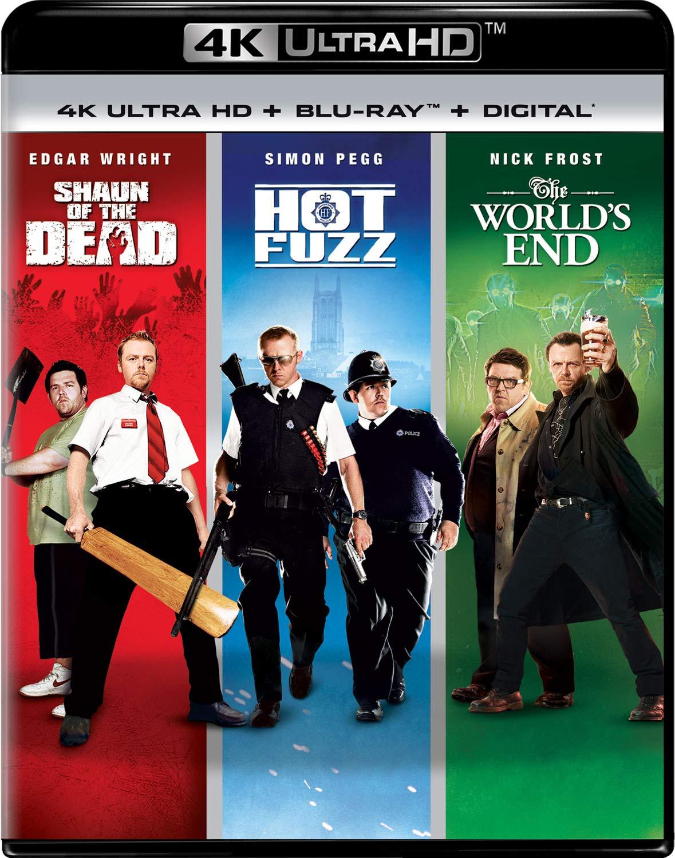 Shaun of the Dead / Hot Fuzz / The World's End Trilogy  [4K Ultra HD + Blu-ray + Digital]: $25.66 + FS