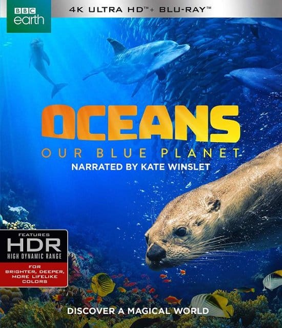 Oceans: Our Blue Planet (4K Ultra HD Blu-ray/Blu-ray) $9.99 + Free Store Pickup @ Best Buy