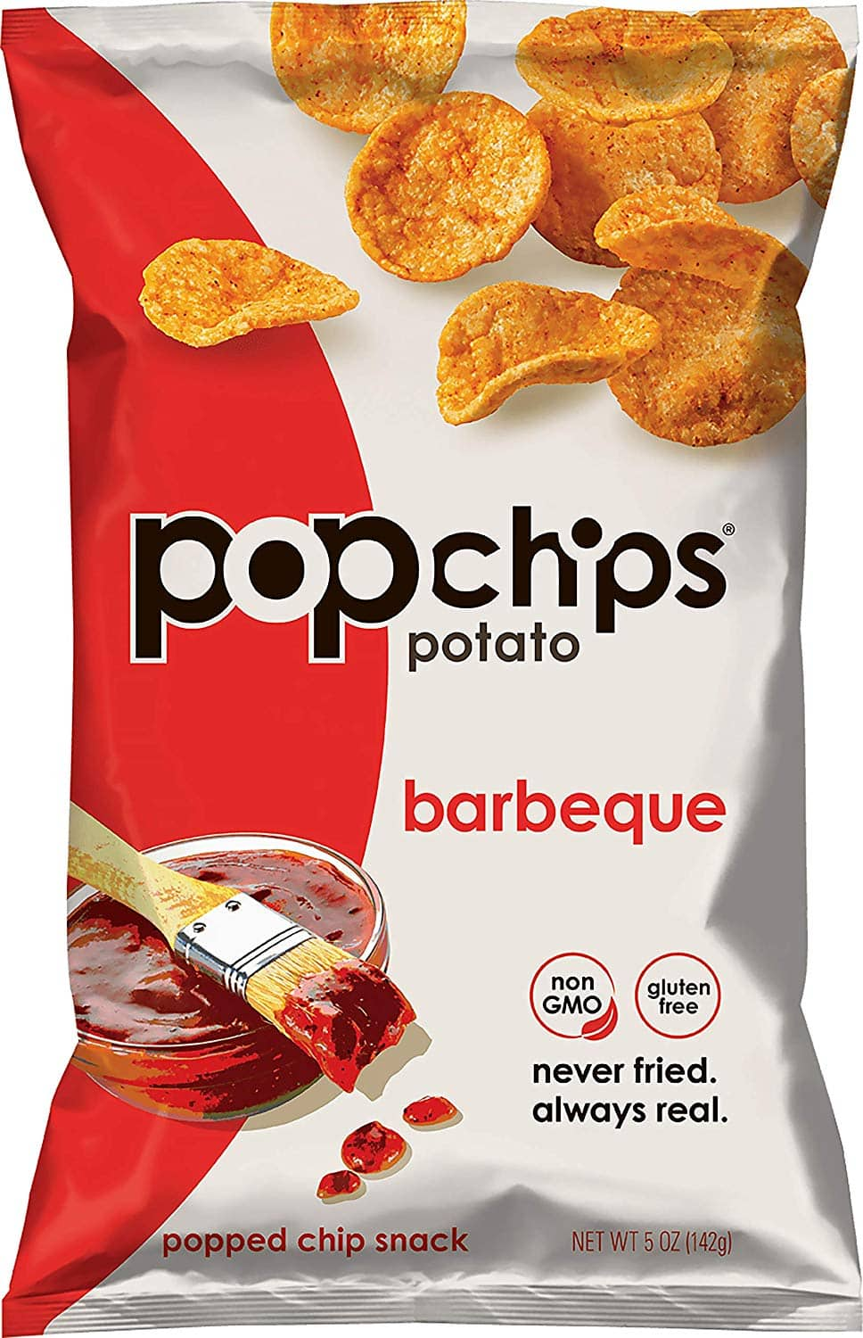 12 count Popchips Potato Chips BBQ Potato Chips 5 oz Bags: As low as $20.74 w/S&S and A/c and more options