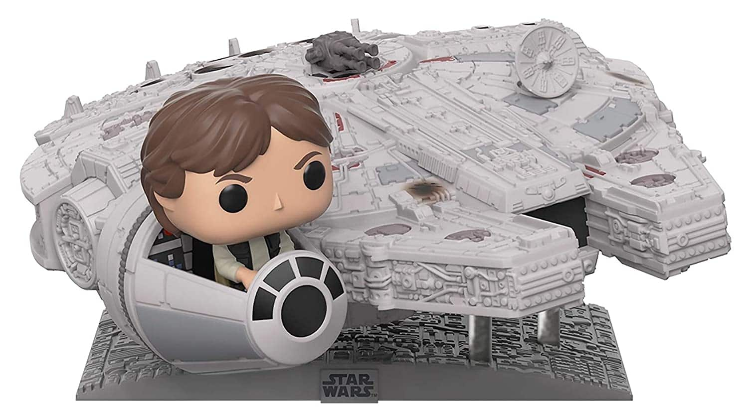 Funko Pop! Deluxe: Star Wars - Millennium Falcon with Han Solo: $39.46