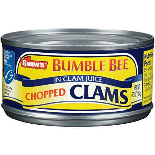 12 count Snows Clam Chopped, 6.5-Ounce Cans: $19.08 or less w/S&S