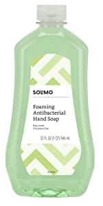32oz Amazon Brand - Solimo Foaming Antibacterial Soap Refill, Pear Scent, Triclosan Free, (ONLY Fits Foaming Dispensers): $6.25 + FS/Prime