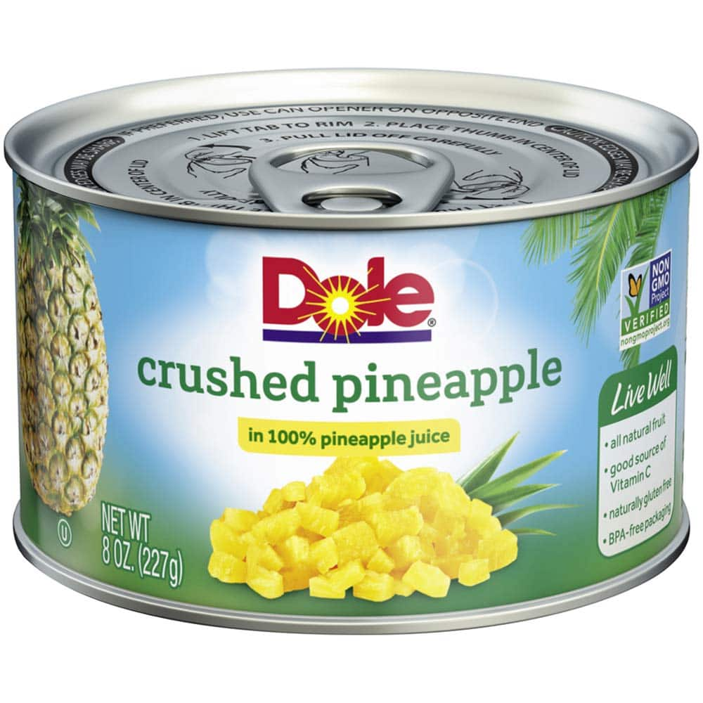 12 pack Dole Pineapple Slices in 100% Juice, 8 Ounce Cans: $12.31 or less w/S&S