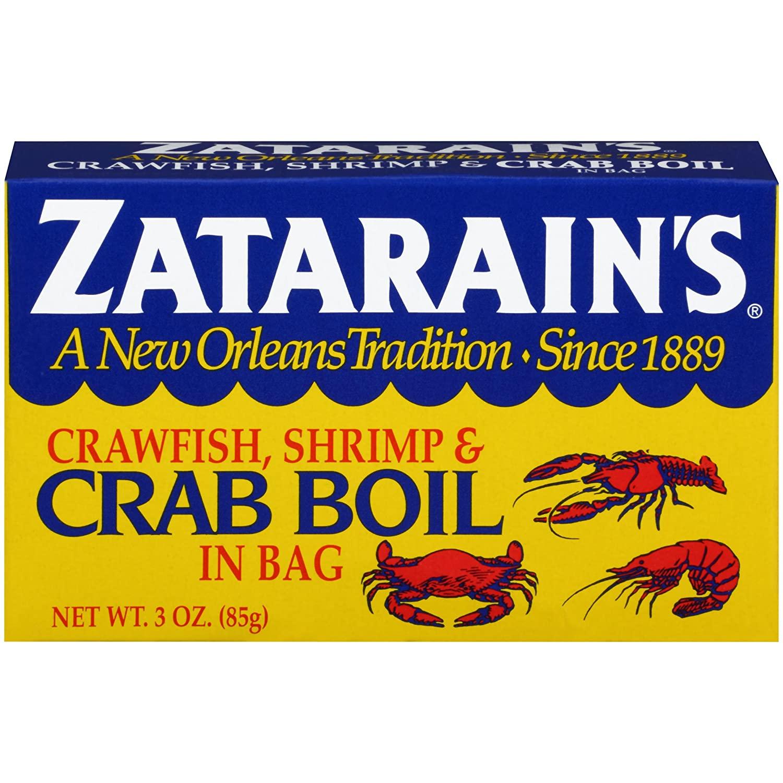 6 pack ZATARAIN'S Crab Boil Seasoning In Bag, 3 Ounce: $5.93 or less w/S&S
