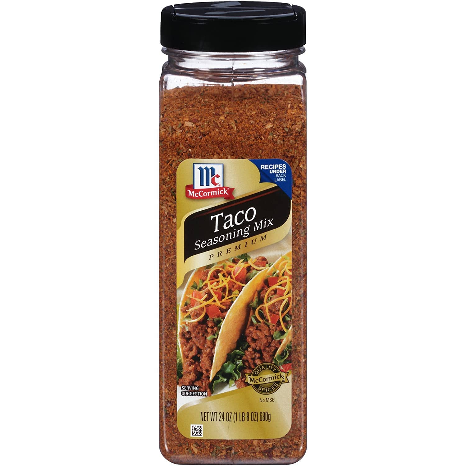 24oz McCormick Premium Taco Seasoning Mix: As low as $3.99 w/S&S
