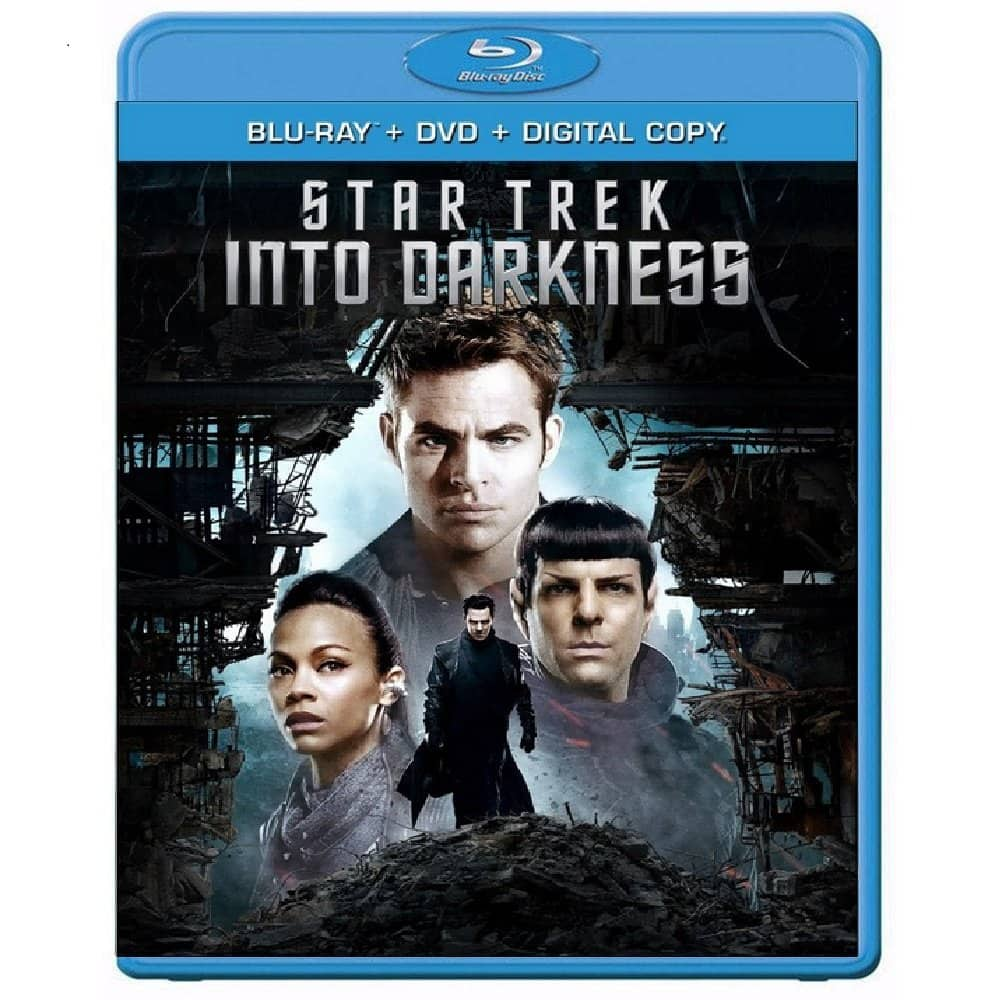 Star Trek Into Darkness (Blu-ray + DVD + Digital HD): $5 + FS/Prime