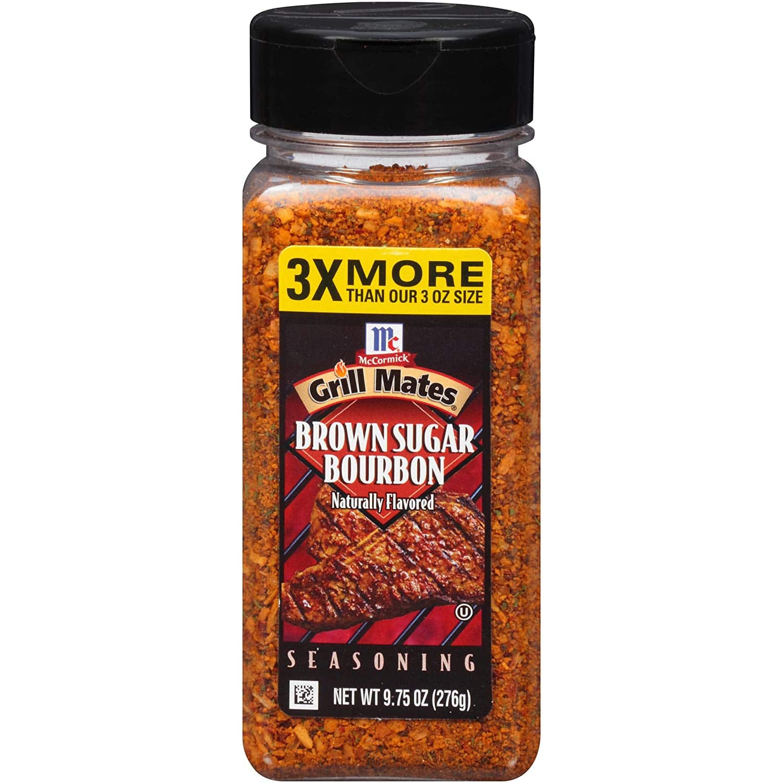 9.75 oz McCormick Grill Mates Brown Sugar Bourbon Seasoning: $3.88 or less w/S&S