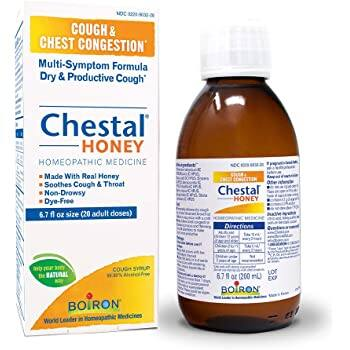 6.7 oz Boiron Chestal Honey Adult Cough Syrup Homeopathic Medicine for Cough and Chest Congestion: $4.18 or less w/S&S