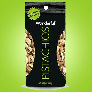 32 oz Wonderful Pistachios, Roasted & Salted: $10.50 + FS/Prime