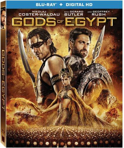 Gods Of Egypt [Bluray + Digital HD]: $3.99 + FS/Prime