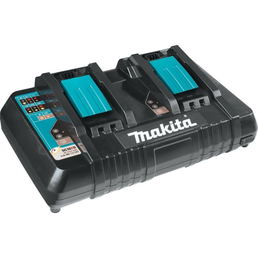 Makita DC18RD 18V Lithium-Ion Dual Port Rapid Optimum Charger $64.97