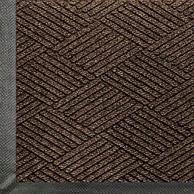 "400 dollars off: Andersen 2295 WaterHog Eco Premier PET Polyester Fiber Entrance Indoor/Outdoor Floor Mat 12.2' Length x 6' Width, 3/8"" Thick, Chestnut Brown $33.17"