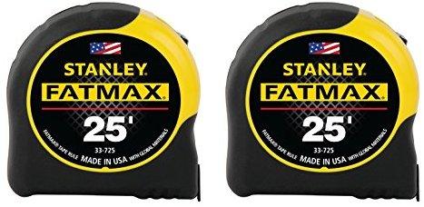 Stanley FMHT74038A FatMax 25 Foot Tape Measure 2PK 14.84 $14.84