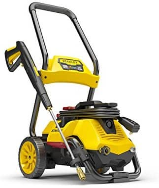 Stanley SLP2050 2050 psi 2-in-1 Electric Pressure Washer Mobile Cart Or Detach Portable Use With Detergent Tank, Yellow, Medium $154.33