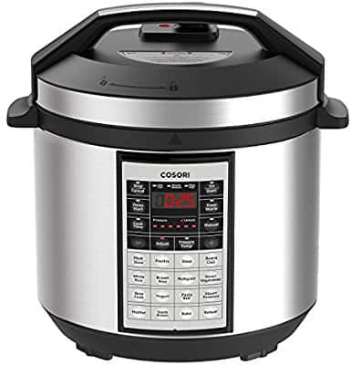 COSORI 6 Quart 8-in-1 Multi-Functional Programmable Pressure Cooker $61.20