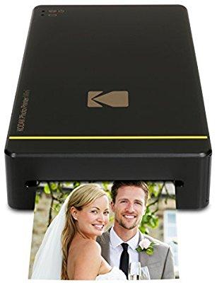 Kodak Mini Portable Mobile Instant Photo Printer Black $49.55