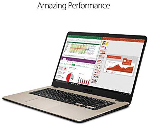 "$499 ASUS VivoBook 15"" FHD Laptop, Ryzen R5-2500U Processor (up to 3.6 GHz) with Radeon Vega 8 Graphics, 8GB DDR4, 256GB M.2 SSD, 802.11ac Wi-Fi - F505ZA-DH51"